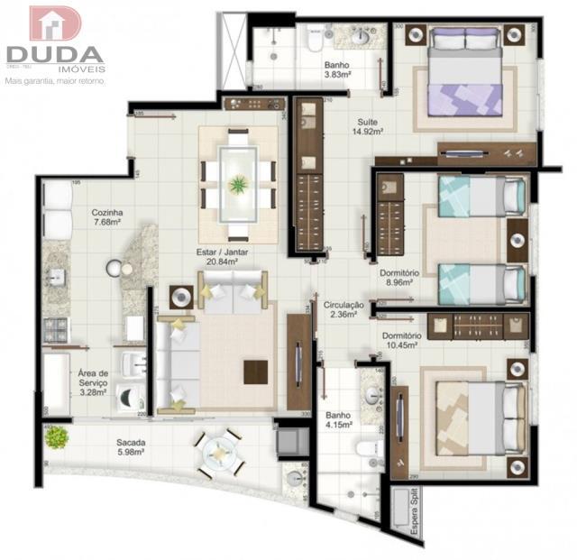 Apartamento Codigo 1680001 a Venda no bairro  na cidade de