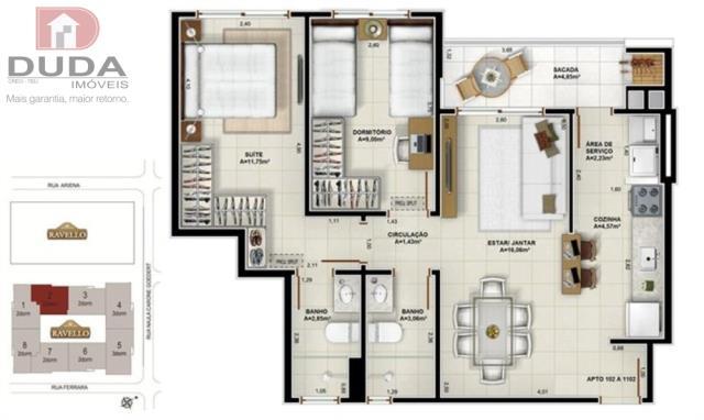 Apartamento Codigo 1964301 a Venda no bairro Passa Vinte na cidade de Palhoça