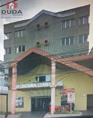 Sala Codigo 2100201 a Venda no bairro Centro na cidade de Criciúma
