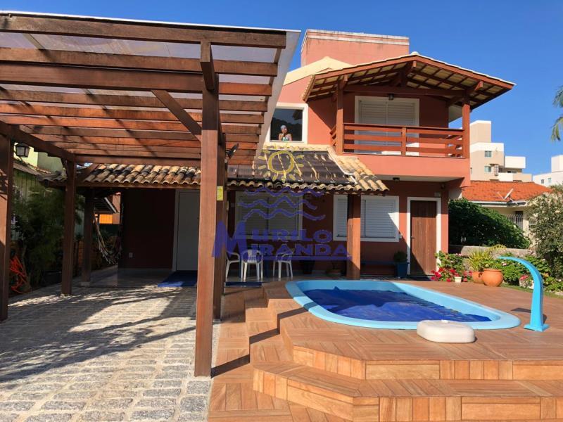 Casa Codigo 75 para locação de temporada no bairro PALMAS na cidade de Governador Celso Ramos