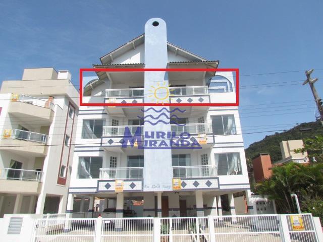 Cobertura Codigo 123 para locação de temporada no bairro PALMAS na cidade de Governador Celso Ramos