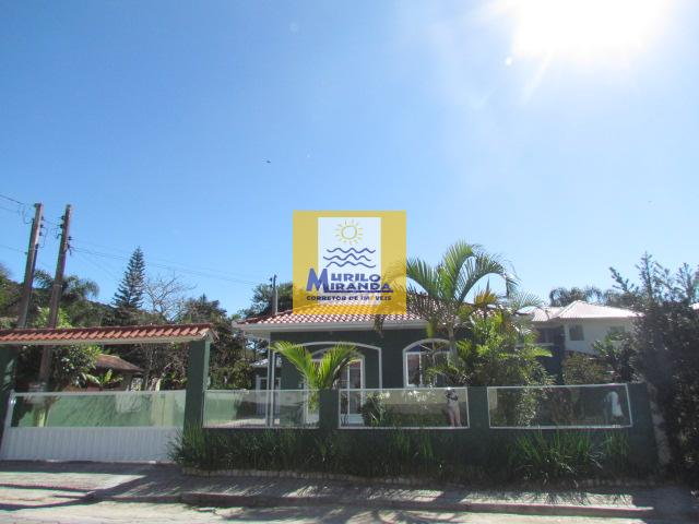 Casa Codigo 136 para locação de temporada no bairro Vila de Palmas na cidade de Governador Celso Ramos