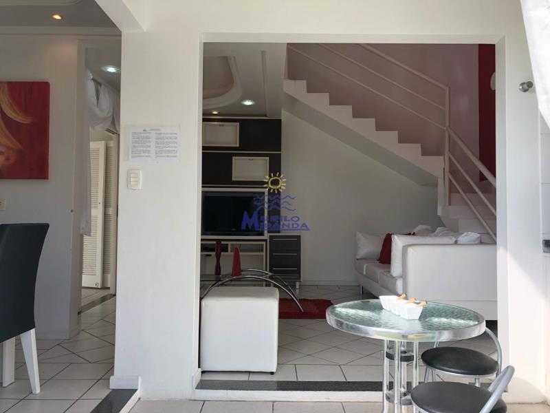 Vista da porta da entrada