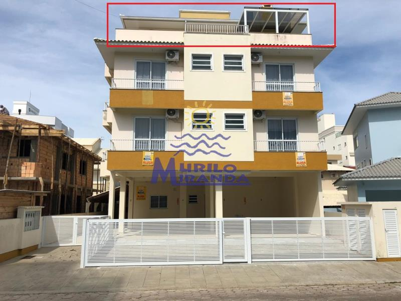 Cobertura Codigo 223 para locação de temporada no bairro PALMAS na cidade de Governador Celso Ramos