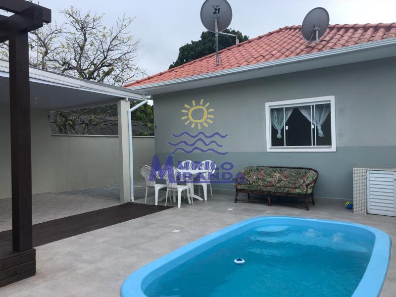 Casa Codigo 272 para locação de temporada no bairro Vila de Palmas na cidade de Governador Celso Ramos