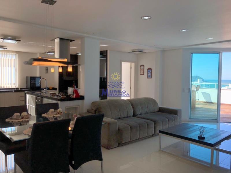 Espaço gourmet e sala de estar