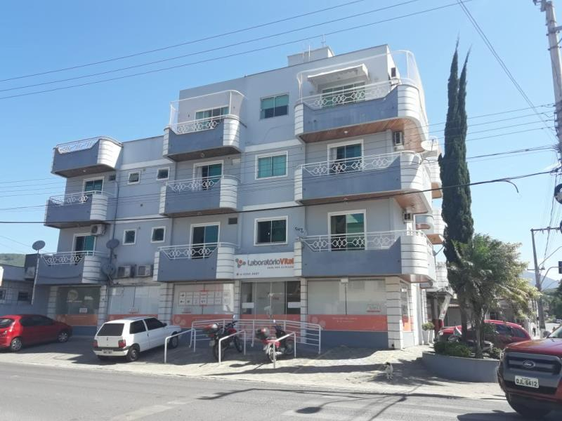 Apartamento Código 27 para alugar no bairro Centro na cidade de Santo Amaro da Imperatriz Condominio edifício bruno eduardo