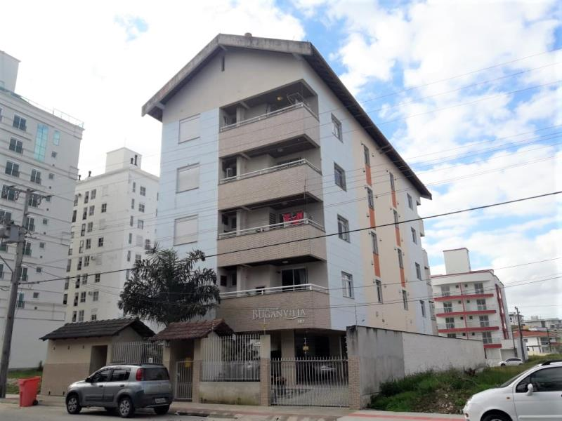 Apartamento Código 338 para alugar no bairro Cidade Universitária Pedra Branca na cidade de Palhoça Condominio residencial bouganvillea