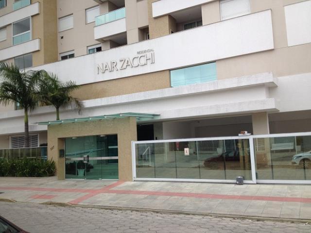 Apartamento Código 3370 a Venda no bairro Centro na cidade de Palhoça Condominio residencial nair zacchi