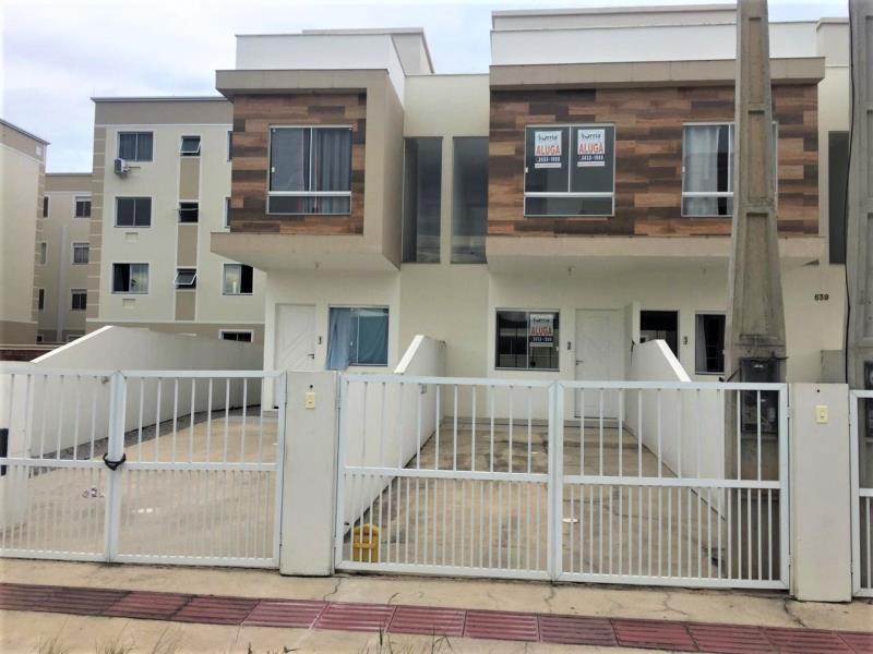 Casa Código 3569 para alugar no bairro Aririu na cidade de Palhoça Condominio residencial ferreira