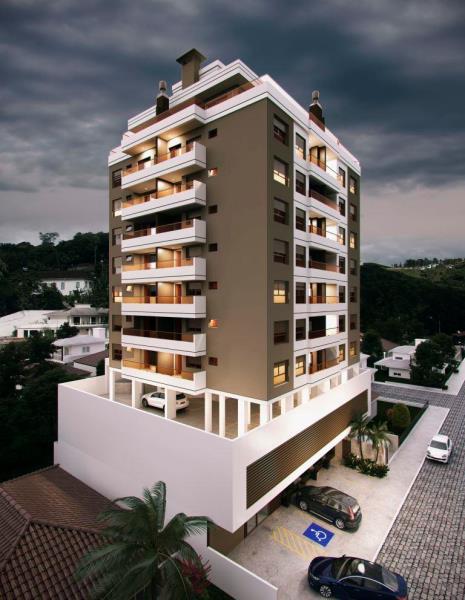 Apartamento Código 3886 a Venda no bairro Centro na cidade de Santo Amaro da Imperatriz Condominio edificio flamingo