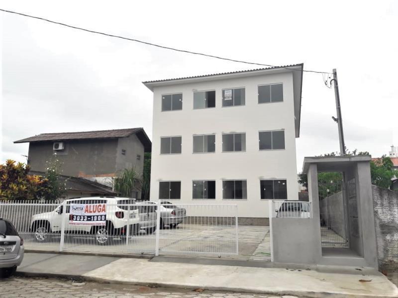 Apartamento Código 4235 para alugar no bairro Ponte do Imaruim na cidade de Palhoça Condominio residencial yasmin