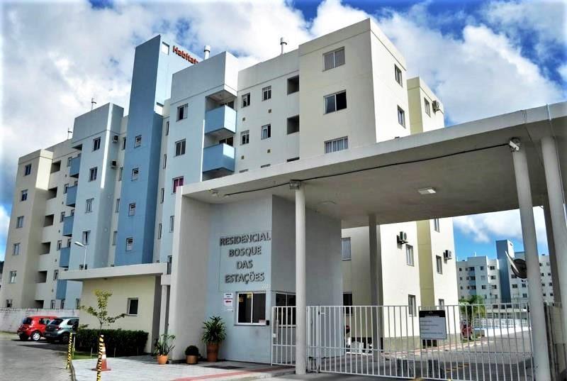Apartamento Código 3998 para Alugar Residencial Bosque das Estações no bairro Bela Vista na cidade de Palhoça