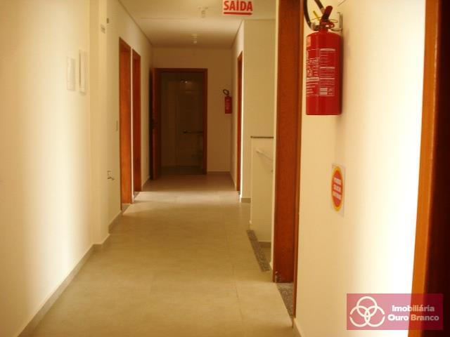 Corredor de acesso as sala do piso superior