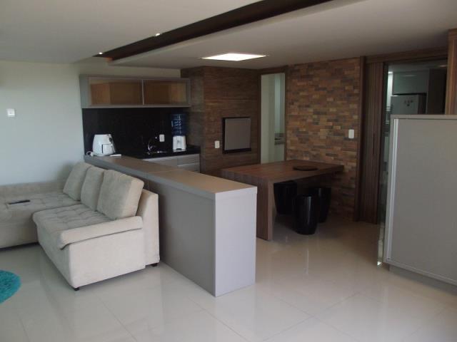 Sala ampla 2 ambientes com terraço