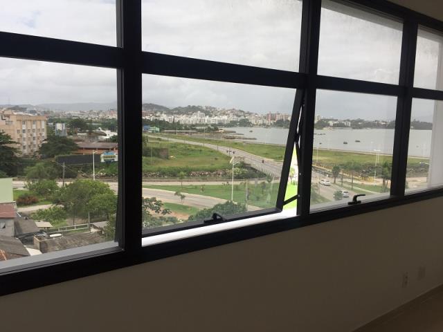 Vista maravilhosa para a Beira Mar de São José e mar