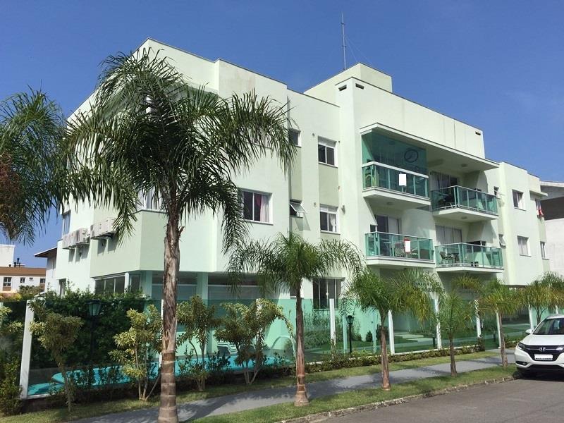 Apartamento - Código 839 a Venda no bairro Palmas na cidade de Governador Celso Ramos - Condomínio Bosque das Seringueiras