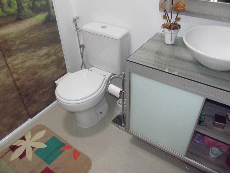 Banheiro Social equipado e montado