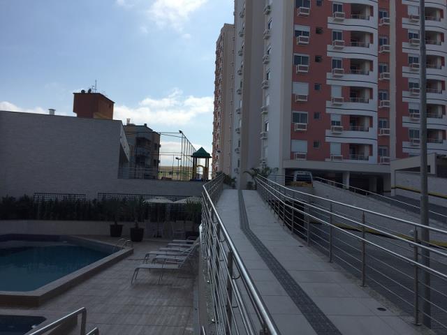 Apartamento - Código 1043 a Venda no bairro Barreiros na cidade de São José - Condomínio Residencial Santos Dumont