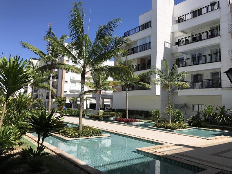 Apartamento - Código 840 a Locação no bairro Abraão na cidade de Florianópolis - Condomínio Boulevard Neoville Residence