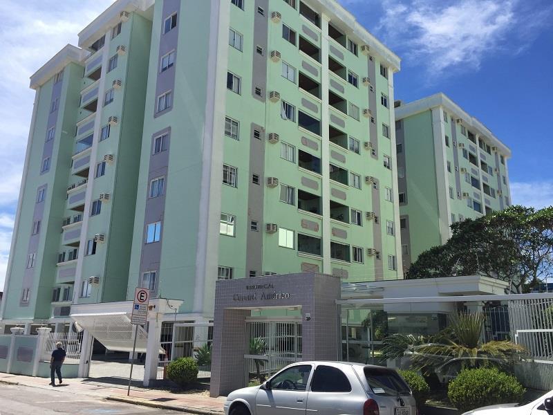Apartamento - Código 847 a Venda no bairro Barreiros na cidade de São José - Condomínio Residencial Coronel Américo