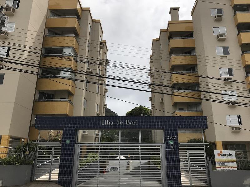 Apartamento - Código 856 a Venda no bairro Saco Grande na cidade de Florianópolis - Condomínio Ilha de Bari