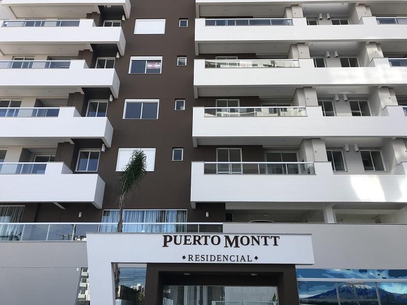 Apartamento - Código 932 a Venda no bairro Barreiros na cidade de São José - Condomínio Residencial Puerto Montt
