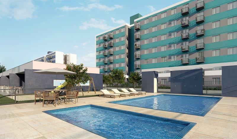 Apartamento - Código 985 a Venda no bairro Praia João Rosa na cidade de Biguaçu - Condomínio Buonavita Residencial