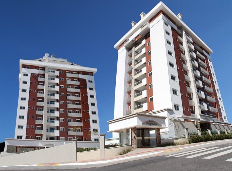 Apartamento - Código 1055 a Venda no bairro Estreito na cidade de Florianópolis - Condomínio Residencial Caminho de Compostela