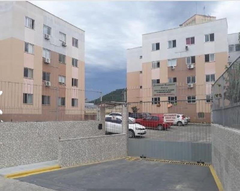 Apartamento - Código 1076 a Venda no bairro Serraria na cidade de São José - Condomínio Edifício Residencial Antares