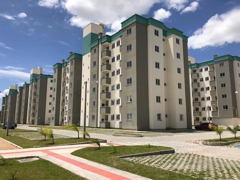Apartamento - Código 1112 a Venda no bairro Vendaval na cidade de Biguaçu - Condomínio Ilha do Atlântico Residence