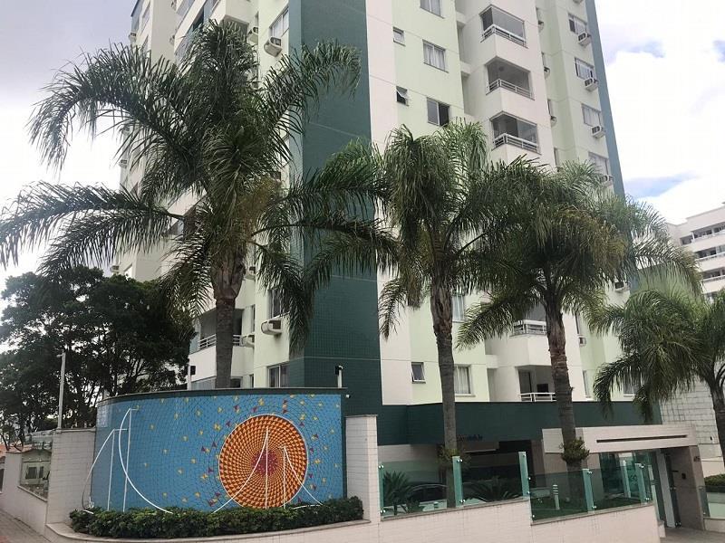 Apartamento - Código 1120 a Venda no bairro Barreiros na cidade de São José - Condomínio Residencial Santiago