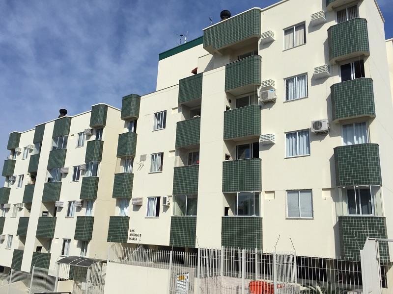 Apartamento - Código 837 a Locação no bairro Jardim Atlântico na cidade de Florianópolis - Condomínio Residencial Angelo e Maria
