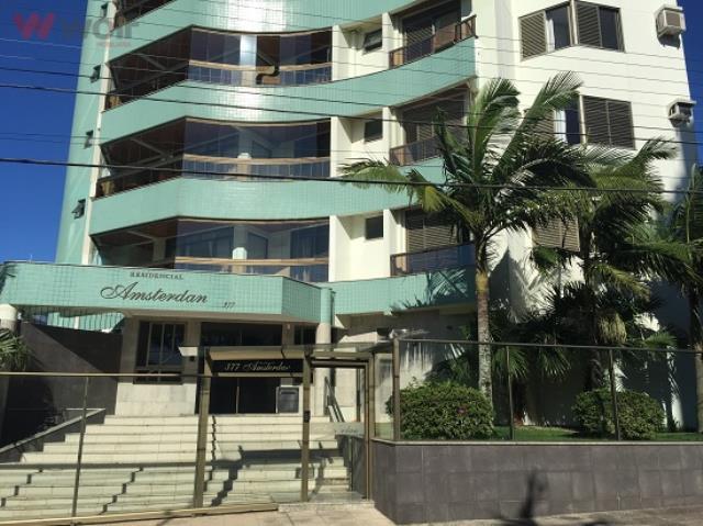 Apartamento - Código 91 a Venda no bairro Estreito na cidade de Florianópolis - Condomínio CONDOMINIO DO RESIDENCIAL AMSTERDAM