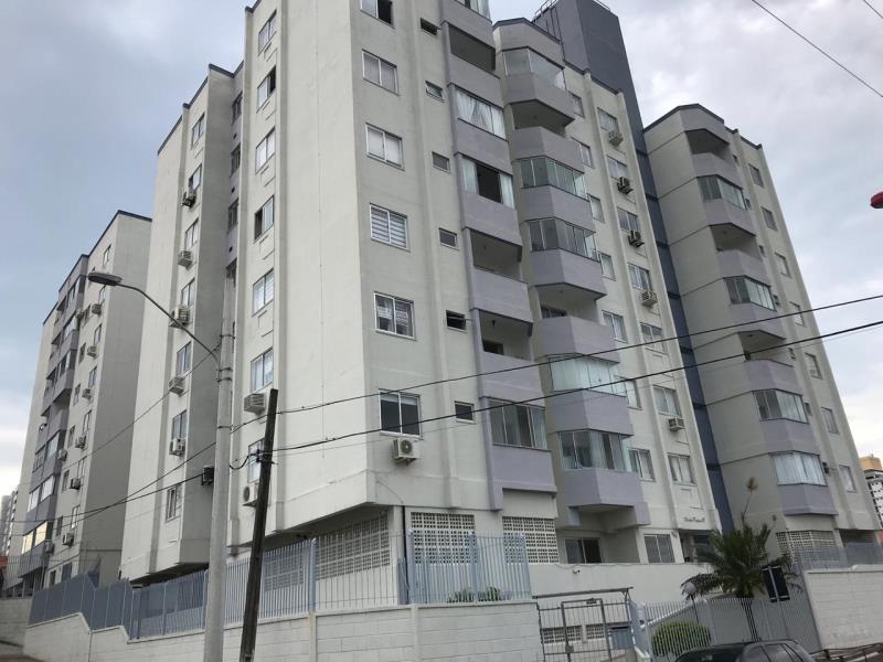 Apartamento - Código 1087 a Locação no bairro Barreiros na cidade de São José - Condomínio Madre Paulina