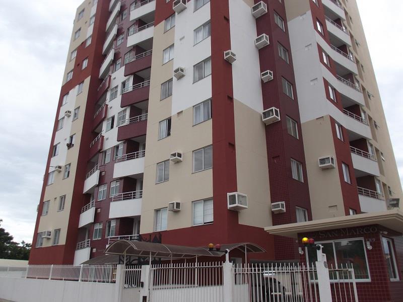 Apartamento - Código 889 a Locação no bairro Ipiranga na cidade de São José - Condomínio San Marco