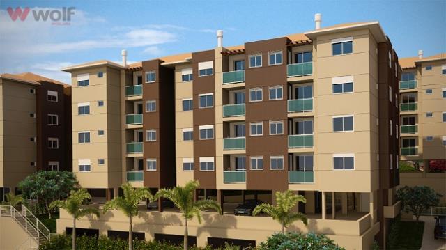 Apartamento - Código 266 a Venda no bairro Centro na cidade de São José - Condomínio Recanto dos Poetas