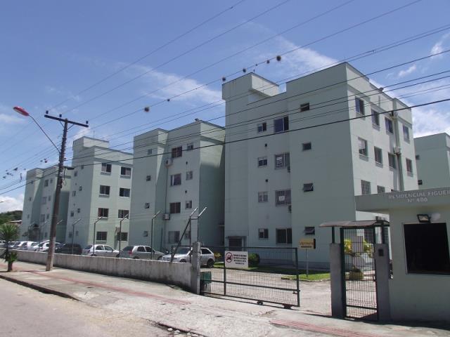 Apartamento - Código 725 a Venda no bairro Sertão do Maruim na cidade de São José - Condomínio Residencial Figueira