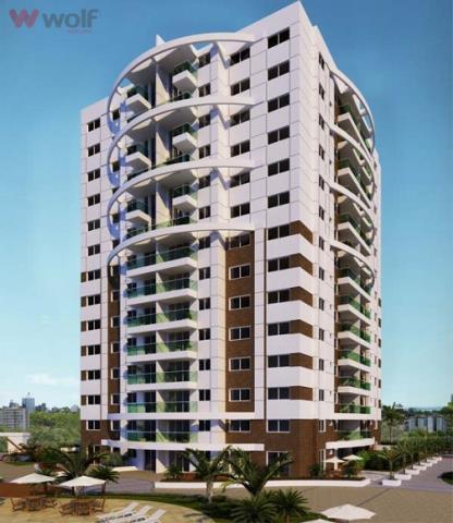 Apartamento - Código 502 a Venda no bairro Barreiros na cidade de São José - Condomínio Linea