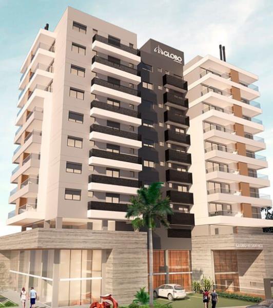 Apartamento - Código 788 a Venda no bairro Canto na cidade de Florianópolis - Condomínio GLOBO RESIDENCE