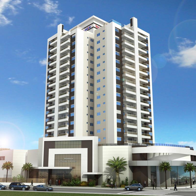 Apartamento - Código 817 a Venda no bairro Balneário na cidade de Florianópolis - Condomínio residencial maria esther
