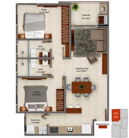 Apartamento-Codigo-626-a-Venda-no-bairro-Campeche-na-cidade-de-Florianópolis