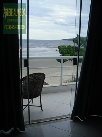 30 - sacada casa beira mar perequê porto belo locação