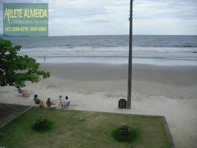 34 - praia casa beira mar perequê porto belo locação