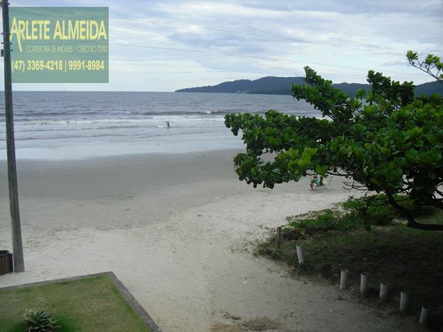 35 - praia casa beira mar perequê porto belo locação