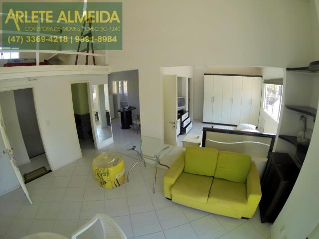 4 - sala de estar apartamento aluguel porto belo