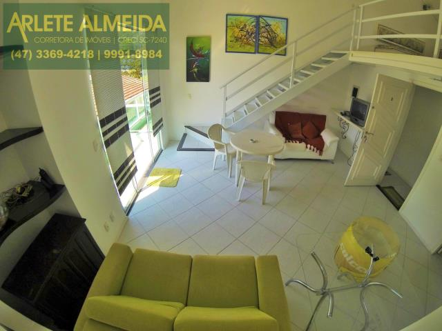 8 - sala de estar apartamento aluguel porto belo