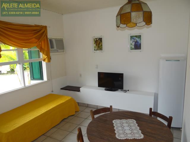 7 - sala de estar apartamento locação porto belo