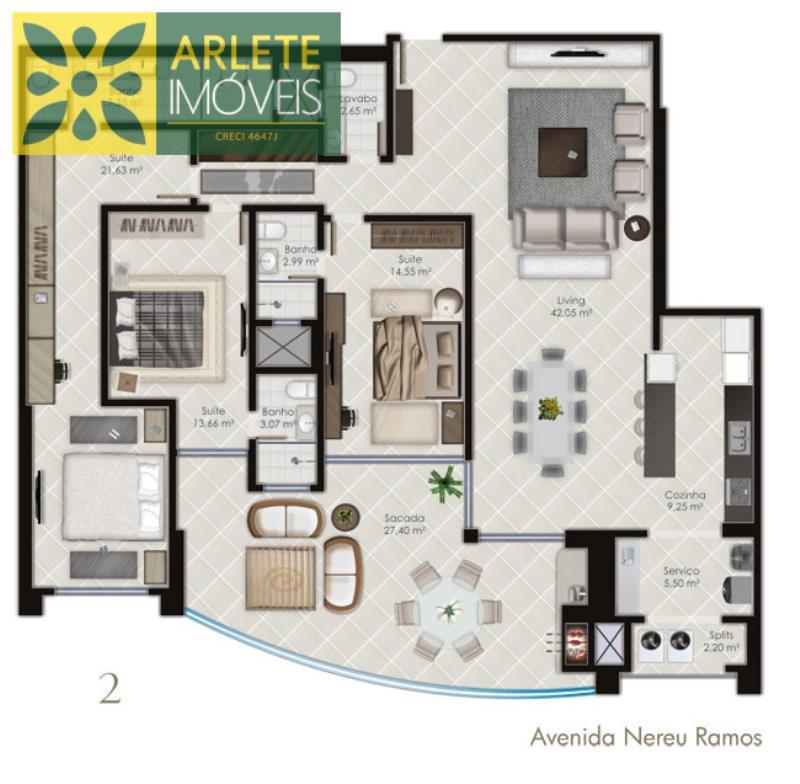 29 - planta baixa de apartamento a venda em itapema