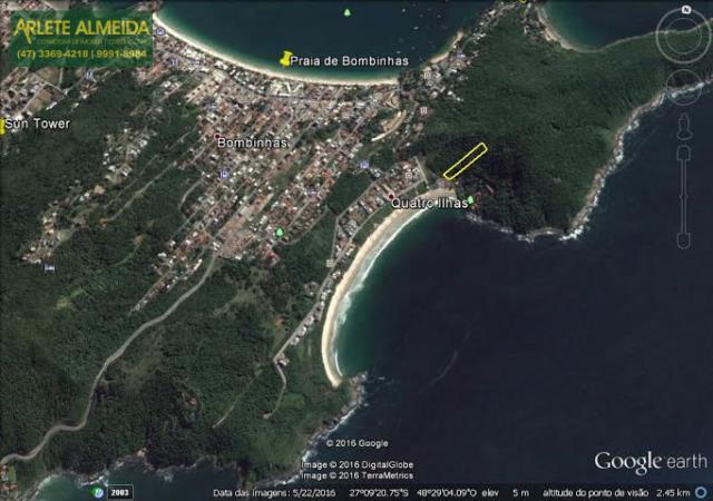 Terreno Codigo 1322 a Venda no bairro-Quatro Ilhas na cidade de Bombinhas
